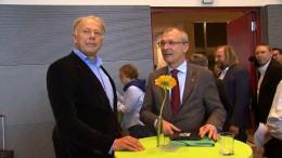 Auch Trittin und Kretschmann verhandeln Koalition