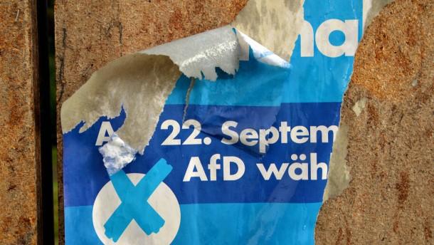 AfD sieht sich Angriffen ausgesetzt