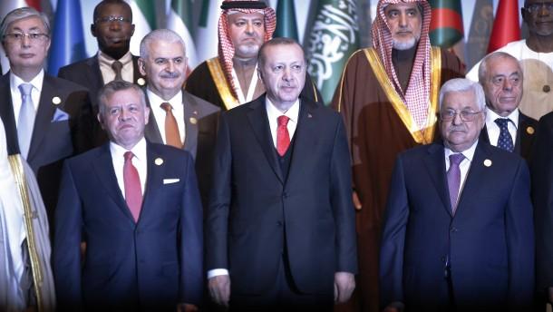 Treffen in Istanbul: Islamischer Gipfel erkennt Ost-Jerusalem als Hauptstadt Palästinas an