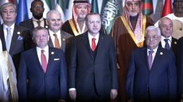 Türkei fordert Ost-Jerusalem als Hauptstadt Palästinas anzuerkennen