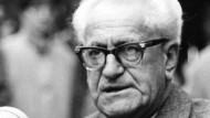 Staatsanwalt Fritz Bauer: Der Richter und Staatsanwalt war maßgeblich am Zustandekommen der Auschwitzprozesse in Frankfurt am Main beteiligt.