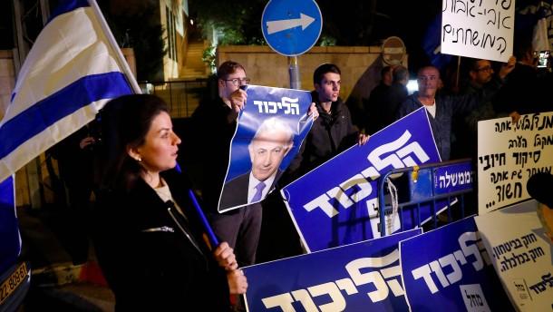 Dürfte Netanjahu noch einmal antreten?