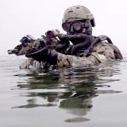 Ausgedient: Das G36, hier im Einsatz bei einer Übung von Kampfschwimmern, soll als Standardwaffe ersetzt werden.
