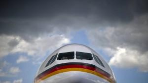 Wenn der Regierungsflieger ohne Passagiere abhebt