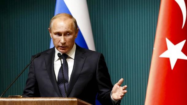 Putin straft die Türkei