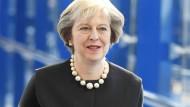 Premierministerin Theresa May erscheint am Sonntag beim Parteitag der Tories in Birmingham.