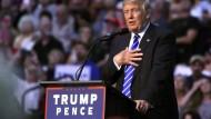 Unter Druck wie noch nie: Donald Trump