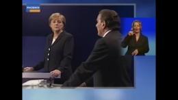 Merkel gegen Schröder