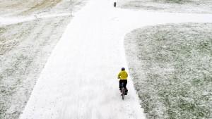 Schnee und Kälte bald vorbei