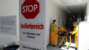 Ebola-Patient wird in Hamburg erwartet