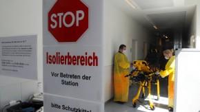 Die Isolierstation im Universitätsklinikum Eppendorf ist gut auf den Ebola-Patienten vorbereitet