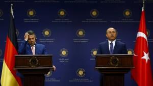 Abfuhr für Gabriel in Ankara