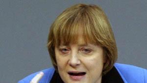 Merkel attackiert Schröder in amerikanischer Zeitung