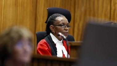 Ist rassistischen Beleidigungen ausgesetzt: Richterin Thokozile Masipa