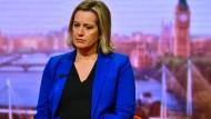 Ihr Rückgrat wiedergefunden: Die zurückgetretene britische Arbeitsministerin Amber Rudd am Samstag in der BBC.