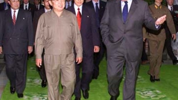Diplomatisches Geplänkel in Pjöngjang
