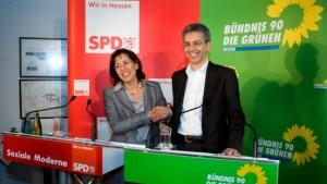 Rot-Grün steht - Al-Wazir wird Umweltminister