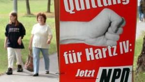 Sorgen in Sachsen: Erfolg der Rechtsextremen befürchtet