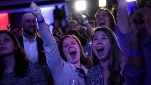 So reagieren junge Amerikaner auf das Wahlergebnis