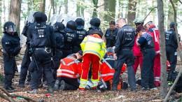 Tödlicher Sturz im Hambacher Forst