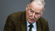 Alexander Gauland war fast 40 Jahre lang CDU-Mitglied.