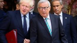 Johnson blitzt bei Juncker ab