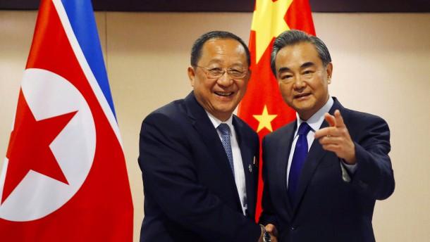 UN-Sanktionen gegen Nordkorea: Pjöngjang will nicht mit Südkorea sprechen