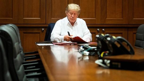 Der Superspreader im Weißen Haus