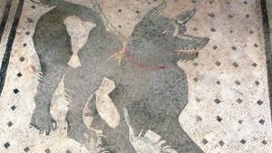 Der Wachhund von Pompeji ist restauriert