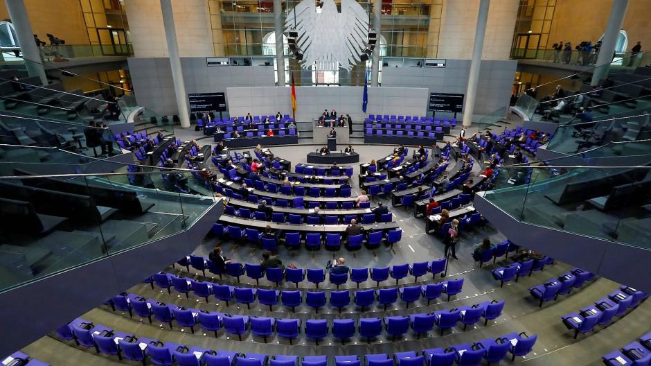 Abstimmung im Bundestag am 6. Mai