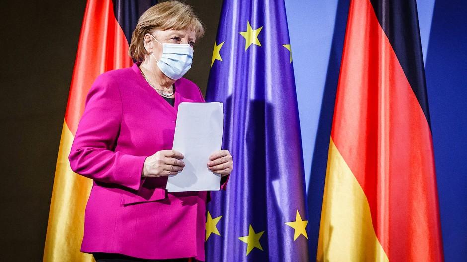 Sinnvoller in Brüssel? Merkel nach dem EU-Gipfel Ende März