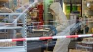 Mann in Supermarkt erschossen