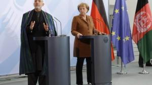 Karzai in Berlin: Ehegesetz geändert
