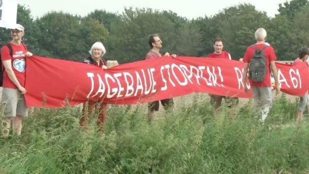 """""""Rote Linie"""" gegen Braunkohleabbau"""