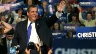 Republikaner Chris Christie gibt Kandidatur bekannt