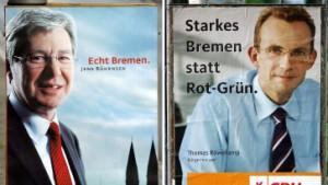 Berlin blickt auf Bremen