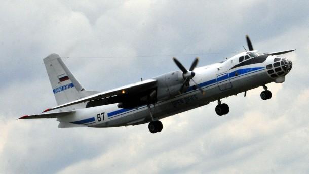 Russischer Militäraufklärer fliegt über Deutschland