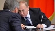 Die russische Führung sieht eine Kampagne gegen Präsident Putin im Gange.