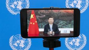 Xi Jinping zieht die Klima-Karte