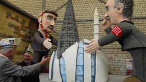 Das Minarett zum Kölner Dom