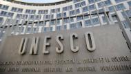 Das Hauptquartier der Unesco in Paris