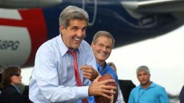 Kerry überholt Bush in Wählerumfrage