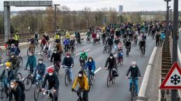 Die Fahrräder werden langsam knapp