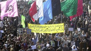 Schiitische Kampagne für rasche Wahlen
