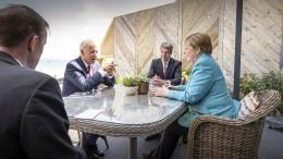 Merkel genießt weltweit großes Vertrauen
