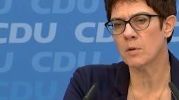 CDU und SPD verteidigen Einigung zu Maaßen