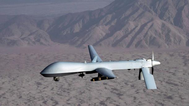 Bewaffnete Drohne