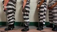 Häftling oder Ehemaliger? Egal. Zahlreiche Amerikaner, die einmal verurteilt worden sind, haben ihr Wahlrecht verwirkt.
