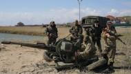 Amerika und Russland werfen sich Truppenaufmarsch vor