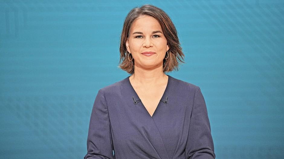 Kandidatin Annalena Baerbock.
